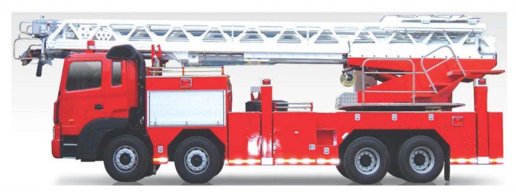 Ladder Fire Fight Truck