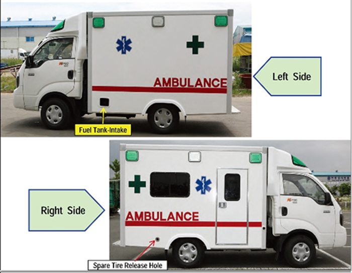 Ambulance parts catalog